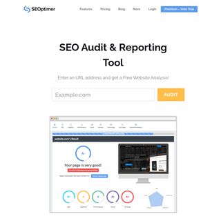 Analyze Websites With Free SEO Audit & Reporting Tool - SEOptimer