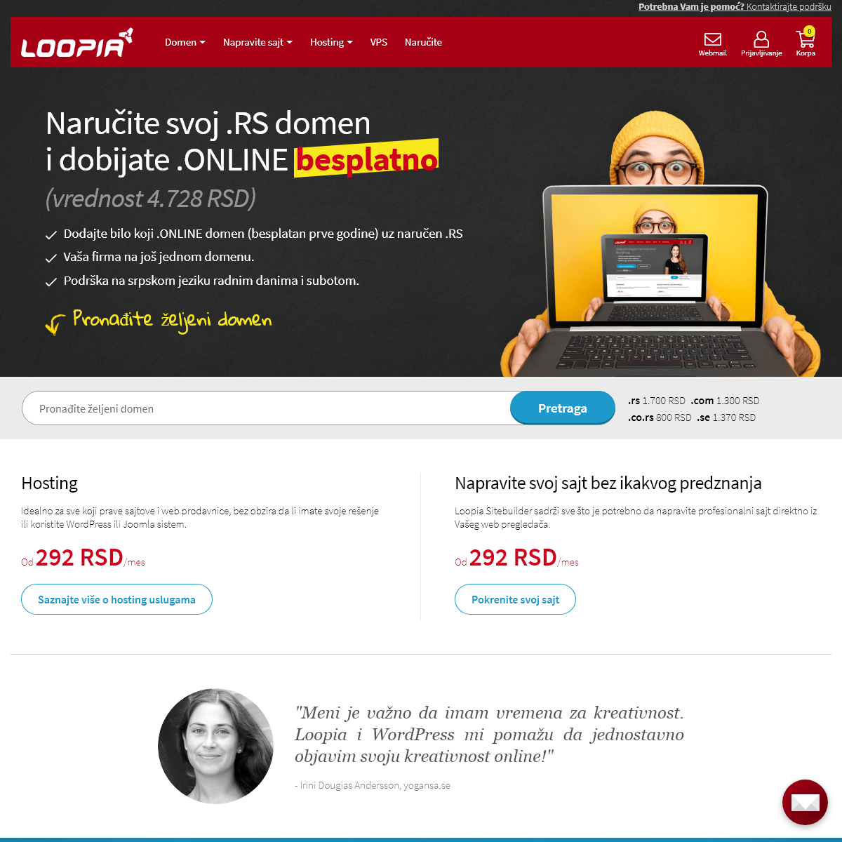 A complete backup of www.loopia.rs