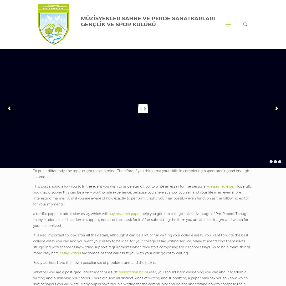 MÜZİSYENLER SAHNE VE PERDE SANATKARLARI GENÇLİK VE SPOR KULÜBÜ – Resmi Web Sitesi