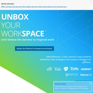 EMS Software - Enterprise-Class Workspace and Campus Management Platform