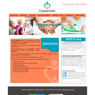 Can Serveis- Que Hacemos