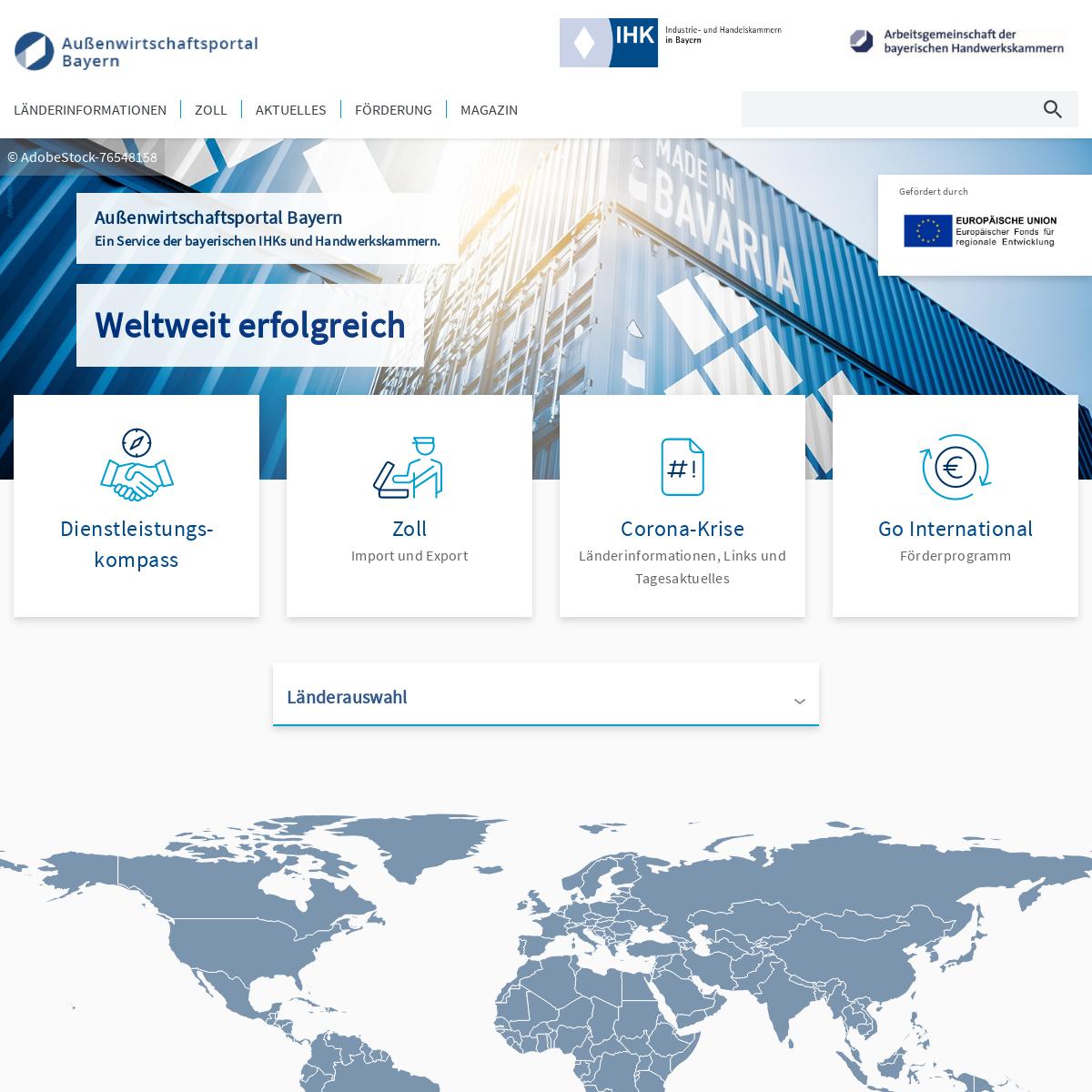 Außenwirtschaftsportal Bayern - Außenwirtschaftsportal Bayern
