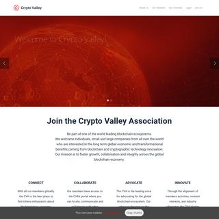 Home - Crypto Valley Association