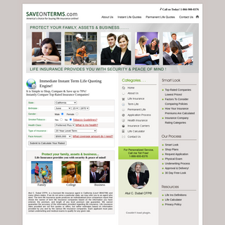 No Hassle Quote - America`s choice for buying life insurance online !