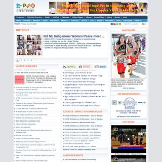 Manipur - E-Pao! -- Complete e-platform for Manipuris