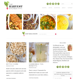 The Harvest Kitchen - Healthy Whole Foods Recipes