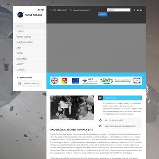 Fulvio Frisone - The Official Website