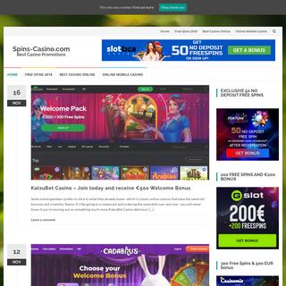 Spins-Casino.com - Best Casino Promotions