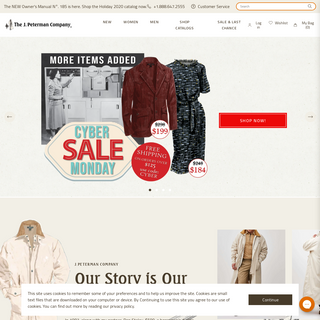 J. Peterman Outfitters – The J. Peterman Company