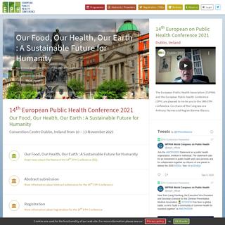 16th World Congress on Public Health 2020