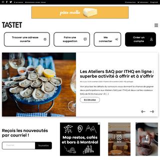 TASTET - LE guide des meilleures adresses gourmandes locales