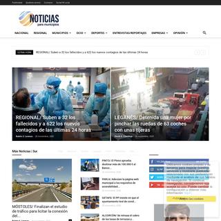 NOTICIAS PARA MUNICIPIOS - Getafe, Leganés, Alcorcón, Móstoles...