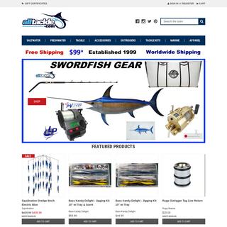 Shop fishing tackle. Rods, reels, gear - Alltackle.com