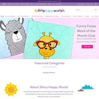 home page - Shiny Happy World