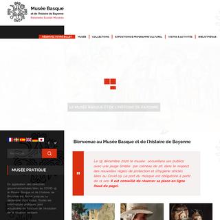 MUSEE BASQUE - Musée Basque et de l`histoire de Bayonne