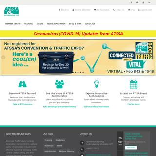 ATSSA- American Traffic Safety Services Association