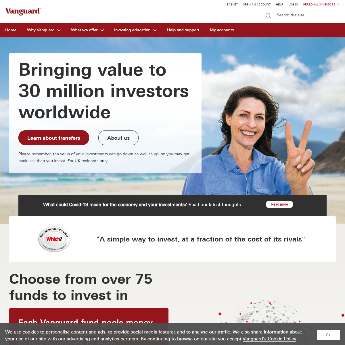 Vanguard Asset Management - Personal Investing in the UK