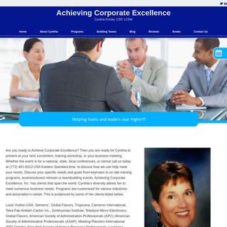 Home - Achieving Corporate Excellence