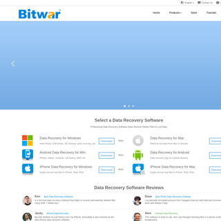 Bitwar Data Recovery Software - Free Download to Recover Data