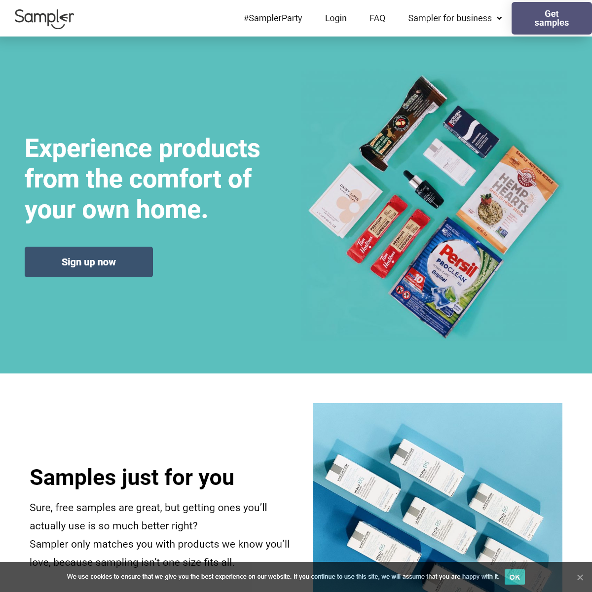 Digital product sampling – Get your product into the right hands, every time.