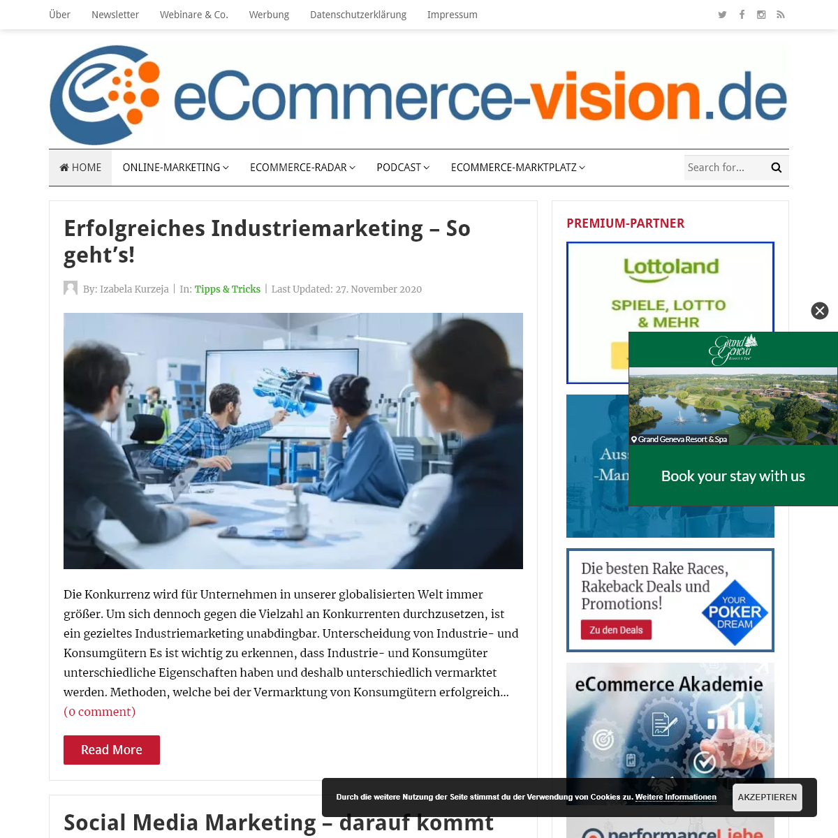 Ecommerce-Vision - Das eCommerce Magazin