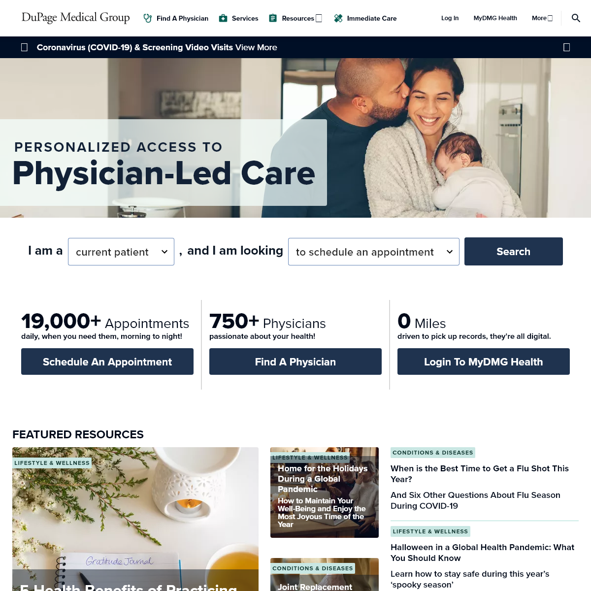 Home - DuPage Medical Group