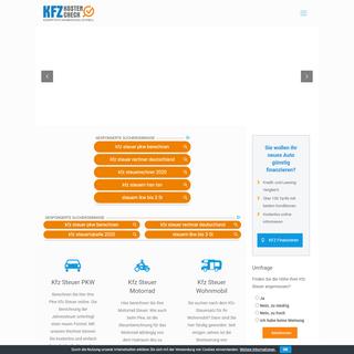 A complete backup of kfz-steuer-online.de