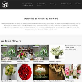 Wedding Florist - We Do Wedding Flowers
