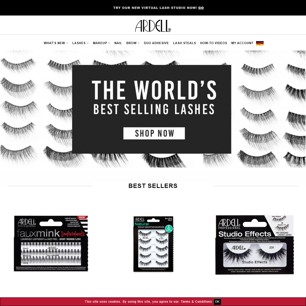 Ardell Lashes - Home