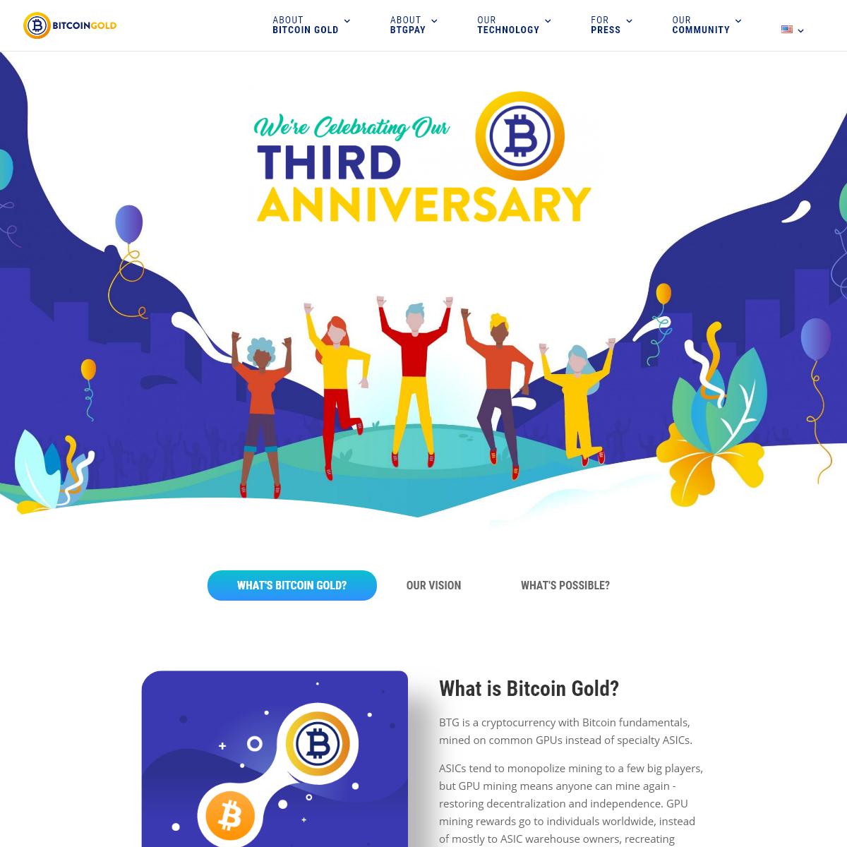 Bitcoin Gold - Make Bitcoin decentralized again
