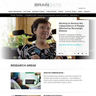 BrainGate - Turning Thought Into Action