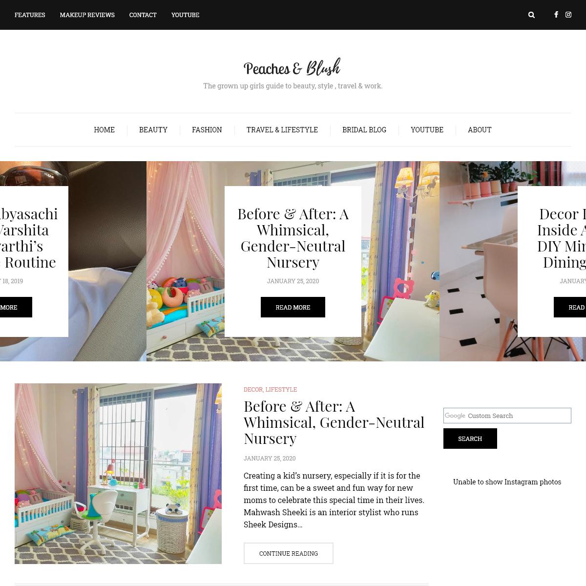 Peachesandblush- Indian Beauty, Fashion & Travel Blog