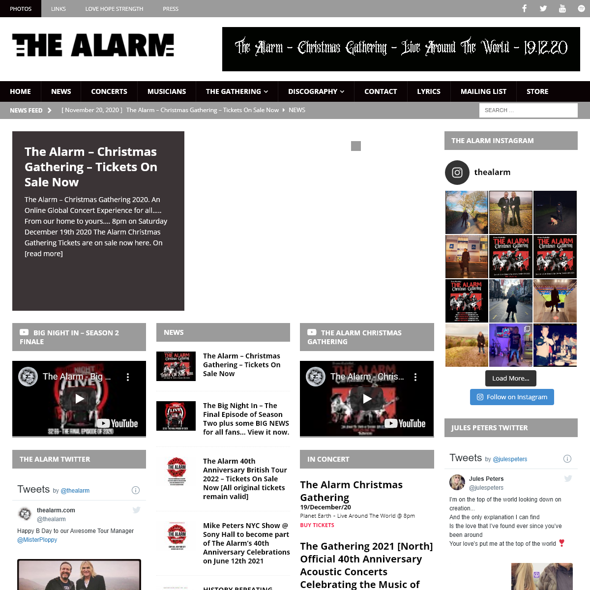 The Alarm – MUSIC WILL KEEP US STRONG