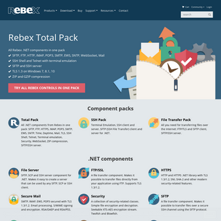 Rebex - Rebex.NET