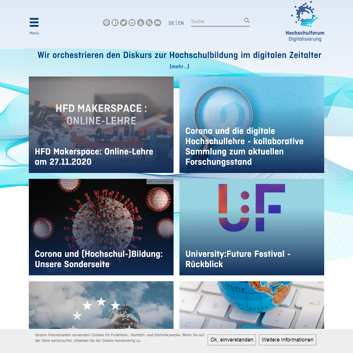 Hochschulforum Digitalisierung – Hochschulbildung im digitalen Zeitalter -