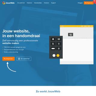 #1 Gratis website maken 2020 - Met .NL domein - JouwWeb