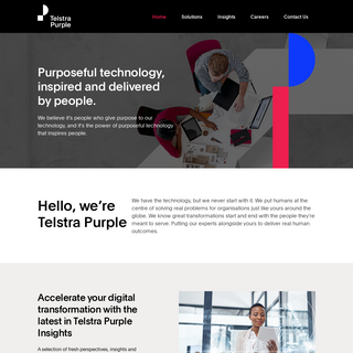 Telstra Purple Consulting, Professional and Managed Services