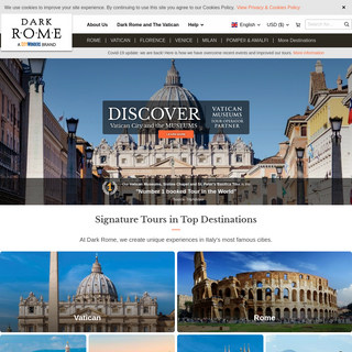 Best Guided Tours of Rome, Vatican and Italy - Dark Rome
