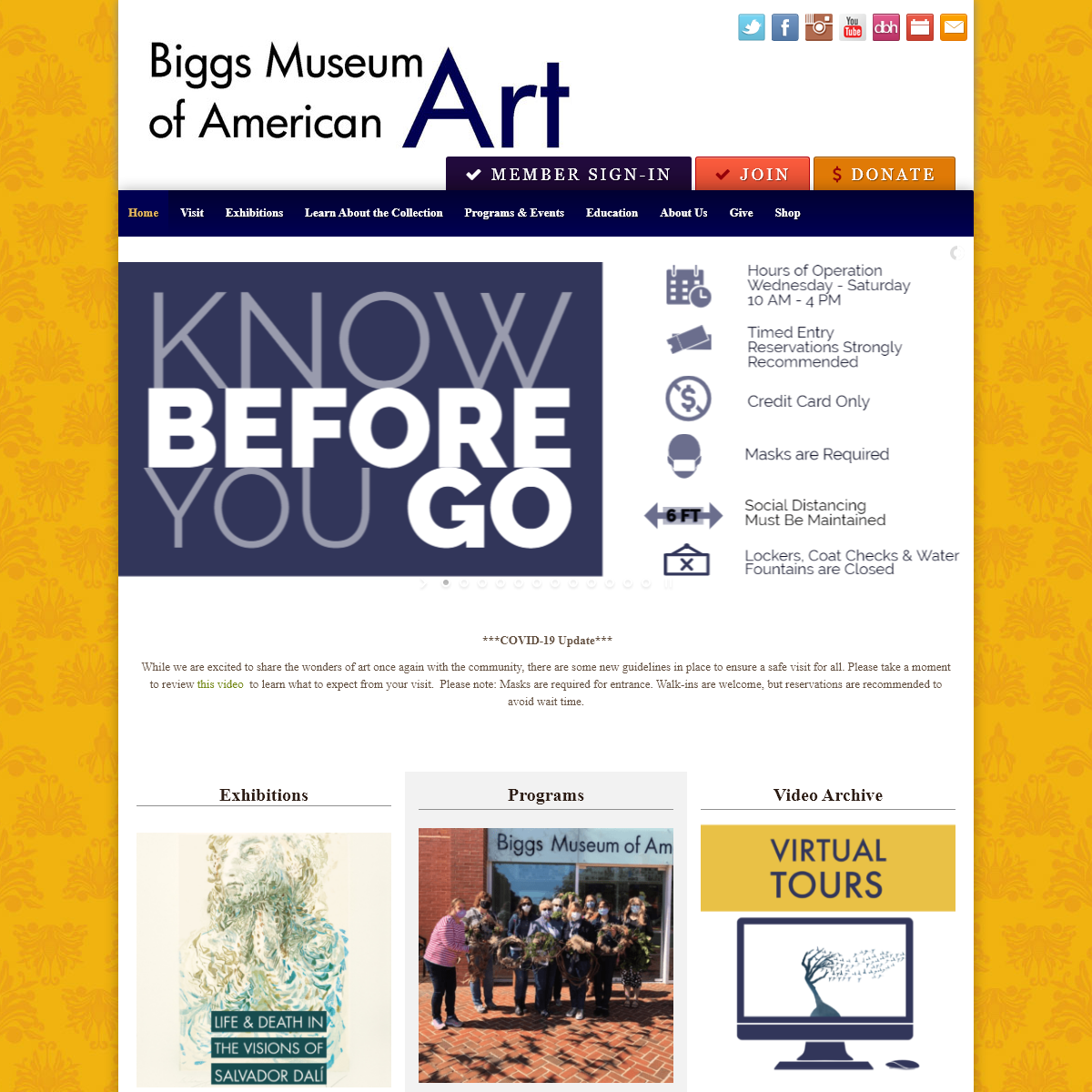 Biggs Museum of American Art