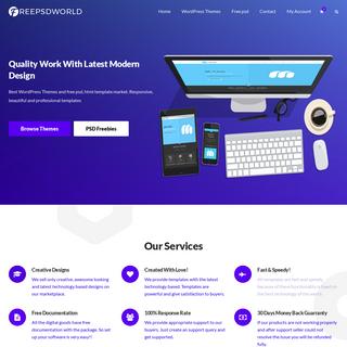 Best Wordpress Themes And Templates - FreePSDWorld