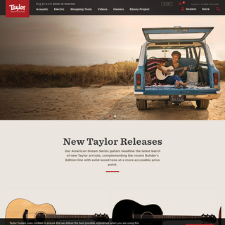 Guitars - Taylor Guitars
