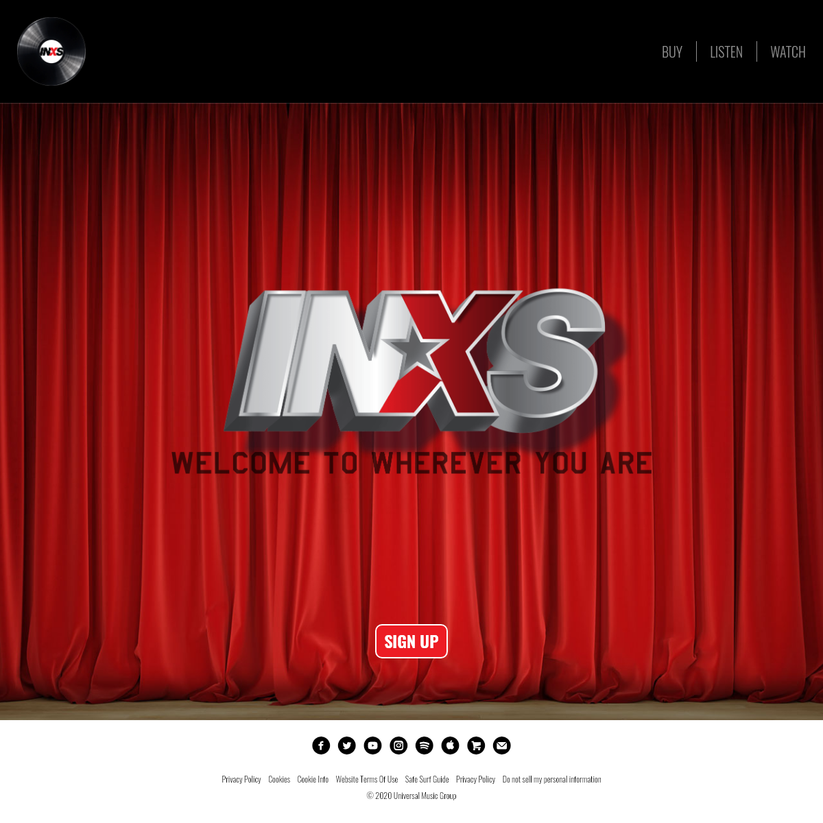 INXS - The Official website of INXS