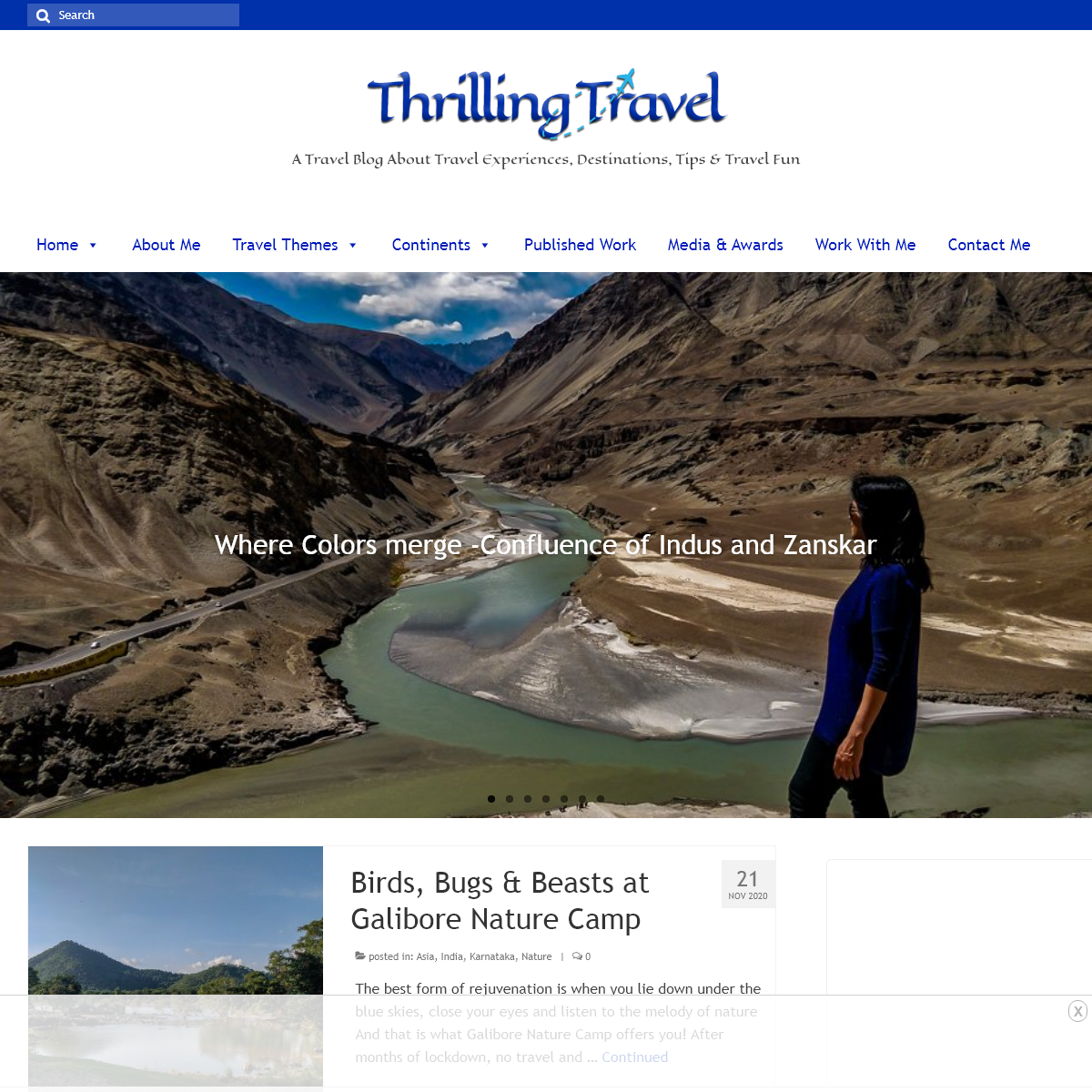 Thrilling Travel - A Travel Blog About Travel Experiences, Destinations & Tips
