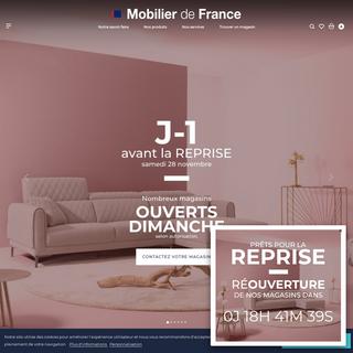 Meubles design et haut de gamme - Mobilier de France
