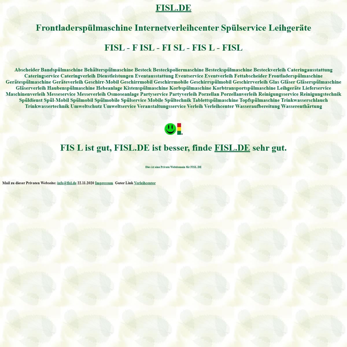 fisl Frontladerspülmaschine verleihcenter Spülservice Leihgeräte Spülmobil Verleih Geschirrmobil Mieten
