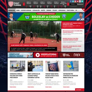 Český florbal - Domovská stránka