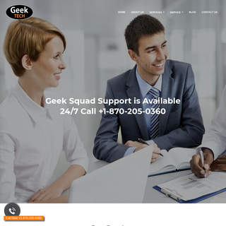 Geek Squad Tech Support Phone Number +1-870-205-0360