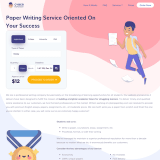 Best Paper Writing Services for Your Success - CyberPaperBoy 🤘