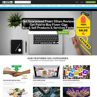 Unlimited Fiverr 5Stars Reviews For New Gigs & Existing Gigs - Guaranteed Fiverr 5Stars Reviews
