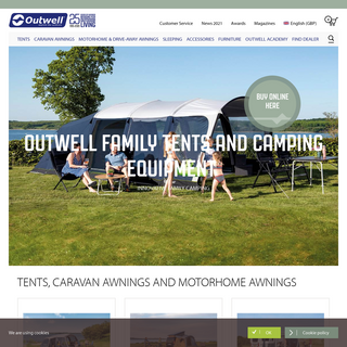 Outwell - Family tents and camping equipment - buy online here